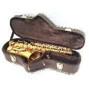 Estojo Case Para Sax Alto Formato Luxo Marrom