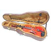 Estojo Case Para Violino 4/4 Milenium Marrom
