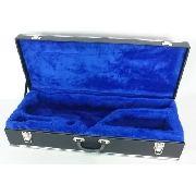 Estojo Case Para Sax Tenor Luxo Pelúcia Azul