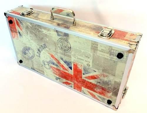 Case Para Pedaleira Boss Me80 Tema Inglaterra