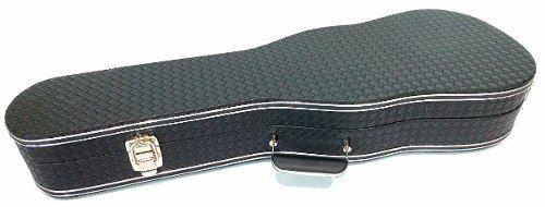 Case Luxo Couro Sintético Para Violino Formato 4/4 Preto