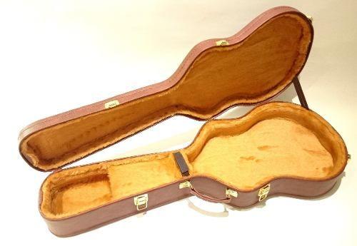 Estojo Case Para Guitarra Les Paul Milenium Marrom