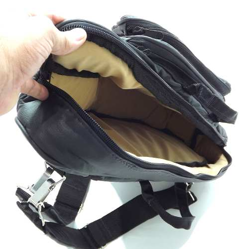 Capa Bag Para Sax Alto Couro Ecológico Preto