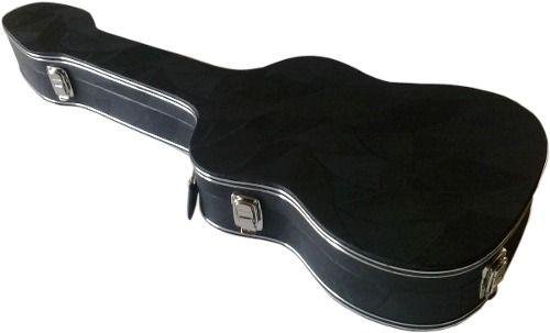 Estojo Case Para Guitarra Strato Luxo Pelúcia Vermelha Fama
