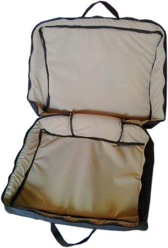 Capa Bag Para Acordeon 120 Baixos Golden Couro Ecológico