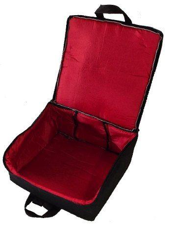 Capa Bag Para Acordeon 80 Baixos Master Luxo Vivo Preto