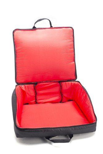 Capa Bag Para Acordeon 120 Super 8 Master Luxo Vivo Vermelho