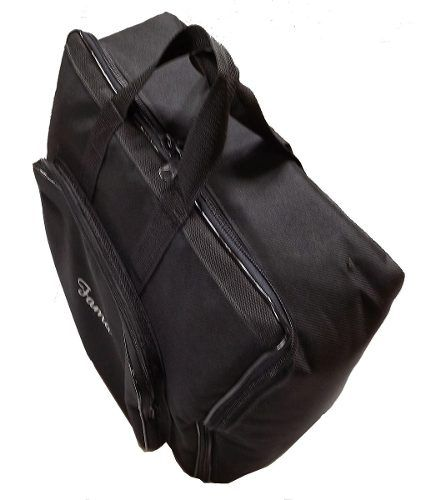Capa Bag Para Acordeon 120 Super 8 Master Luxo Vivo Preto