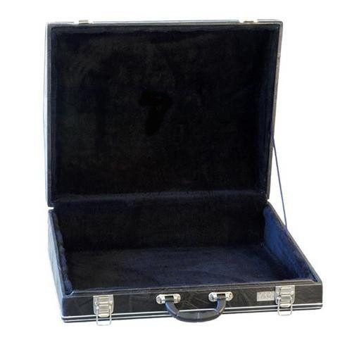 Estojo Case Para Acordeon 120 Em Iv Luxo Pelucia Preta