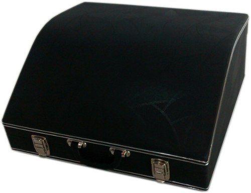 Estojo Case Para Acordeon 120 Super 6 Luxo Pelucia Preta