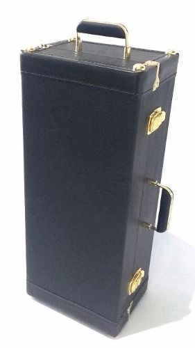 Estojo Case Para Sax Alto Com Compartimento Extra Luxo Preto