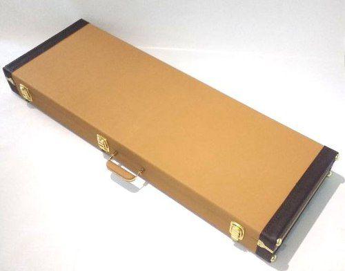 Estojo Case Contrabaixo Universal Retangular Golden Tweed