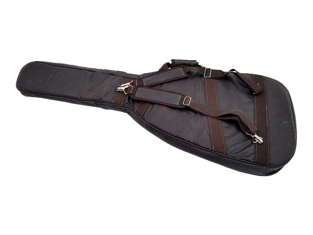 Bag para Contrabaixo Universal Couro Ecológico Marrom