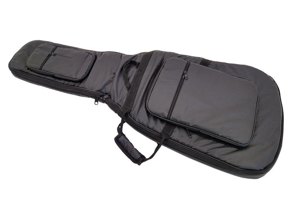 Bag para Contrabaixo Universal Couro Ecológico Preto