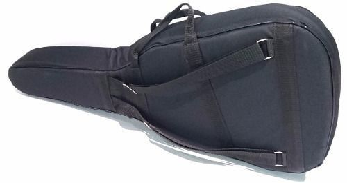 Bag Para Violão Folk Extra Luxo Almofadada Impermeável