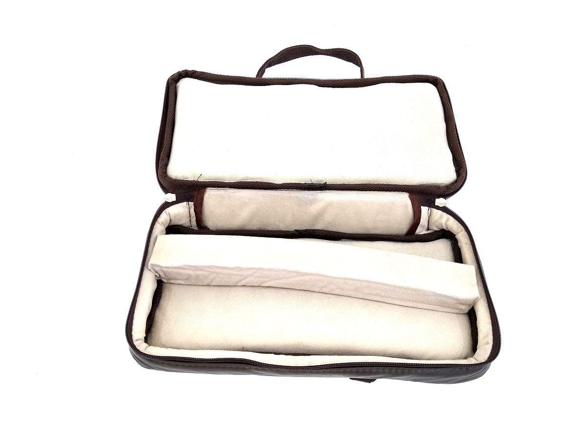 Capa Bag Couro Ecológico para Clarinete em Síb ou Dó