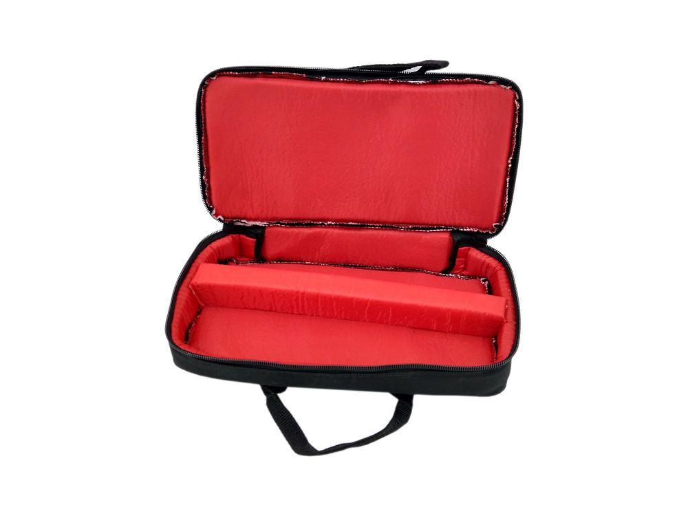 Capa Bag para Clarinete Repartição Interna Master Luxo