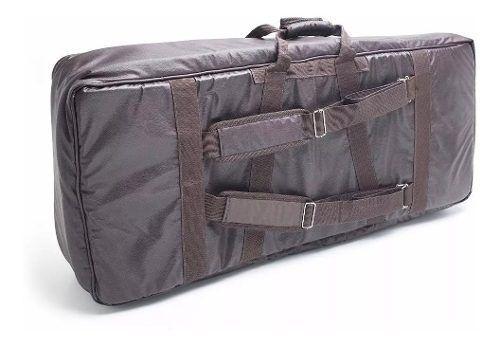 Capa Bag Para Teclado Juno Di Couro Ecológico