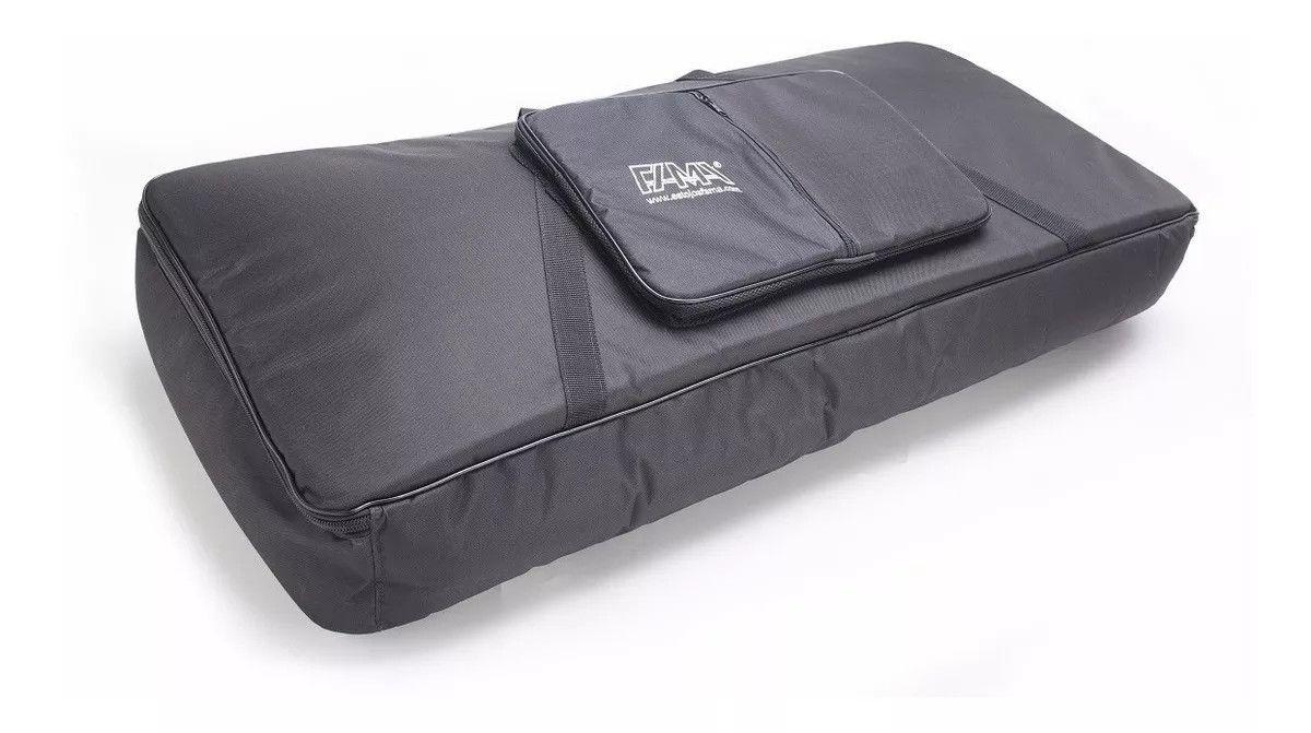 Capa Bag Para Teclado Juno Di Extra Luxo Almofadada