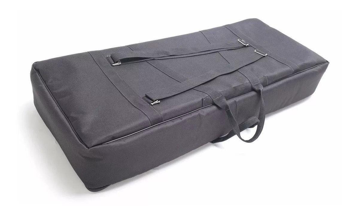 Capa Bag Para Teclado Teclado 5/8 Luxo Almofadada