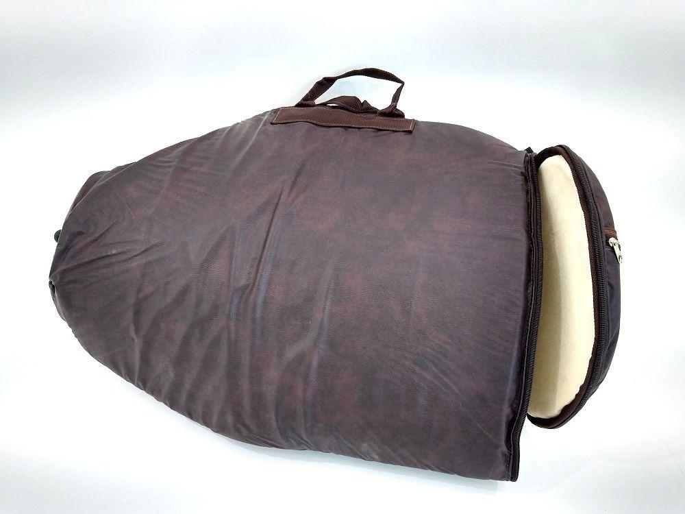 Capa Bag para Tumbadora 14 x 70 Couro Ecologico