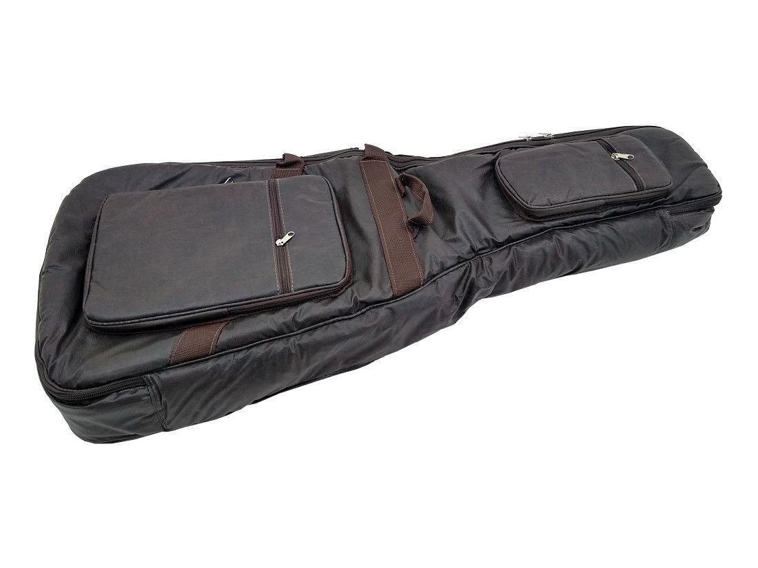 Capa Bag para Violão Folk Couro Ecológico