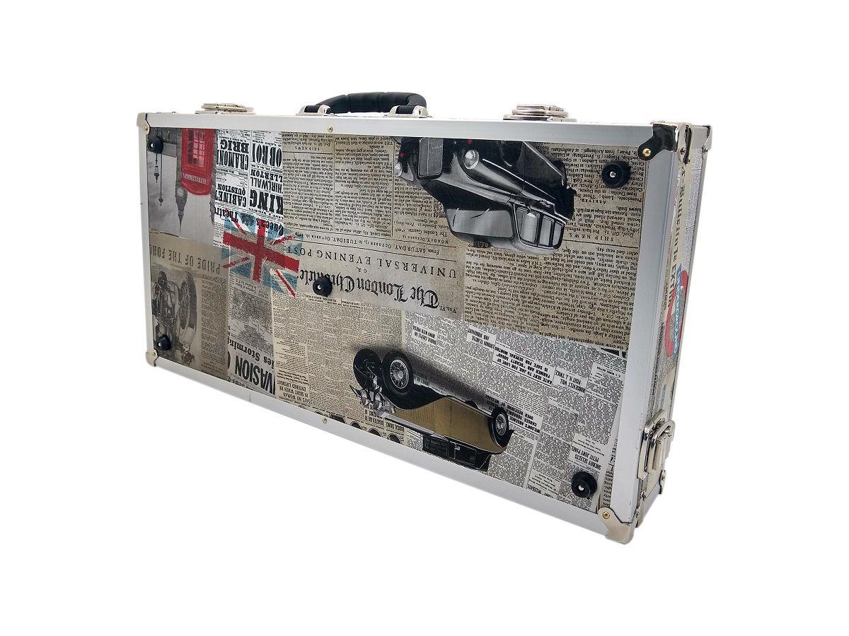 Case Para 12 (doze) Pedais Tema London
