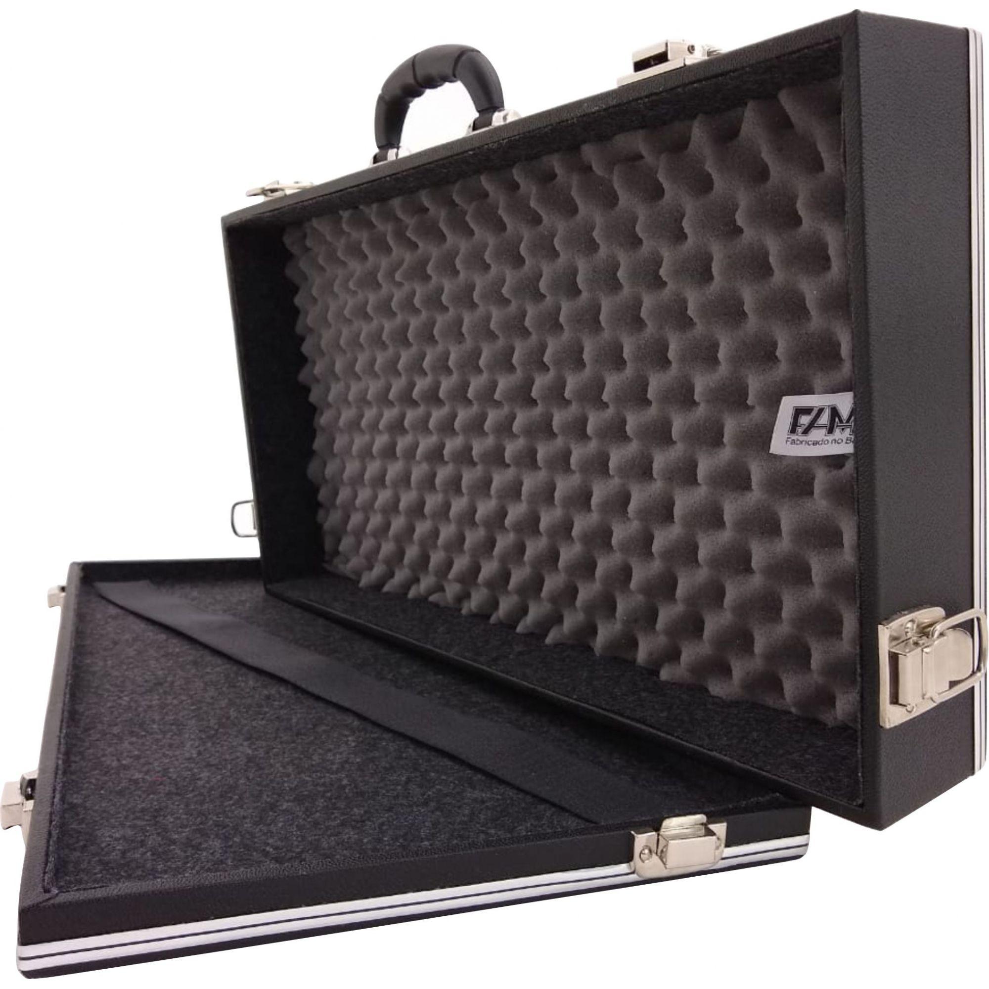Case Para 4 (Quatro) Pedais Luxo