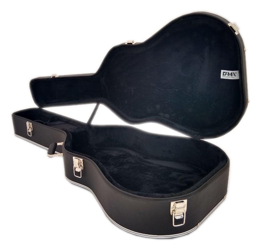 Case Para Violão Folk Luxo Takamine Fama
