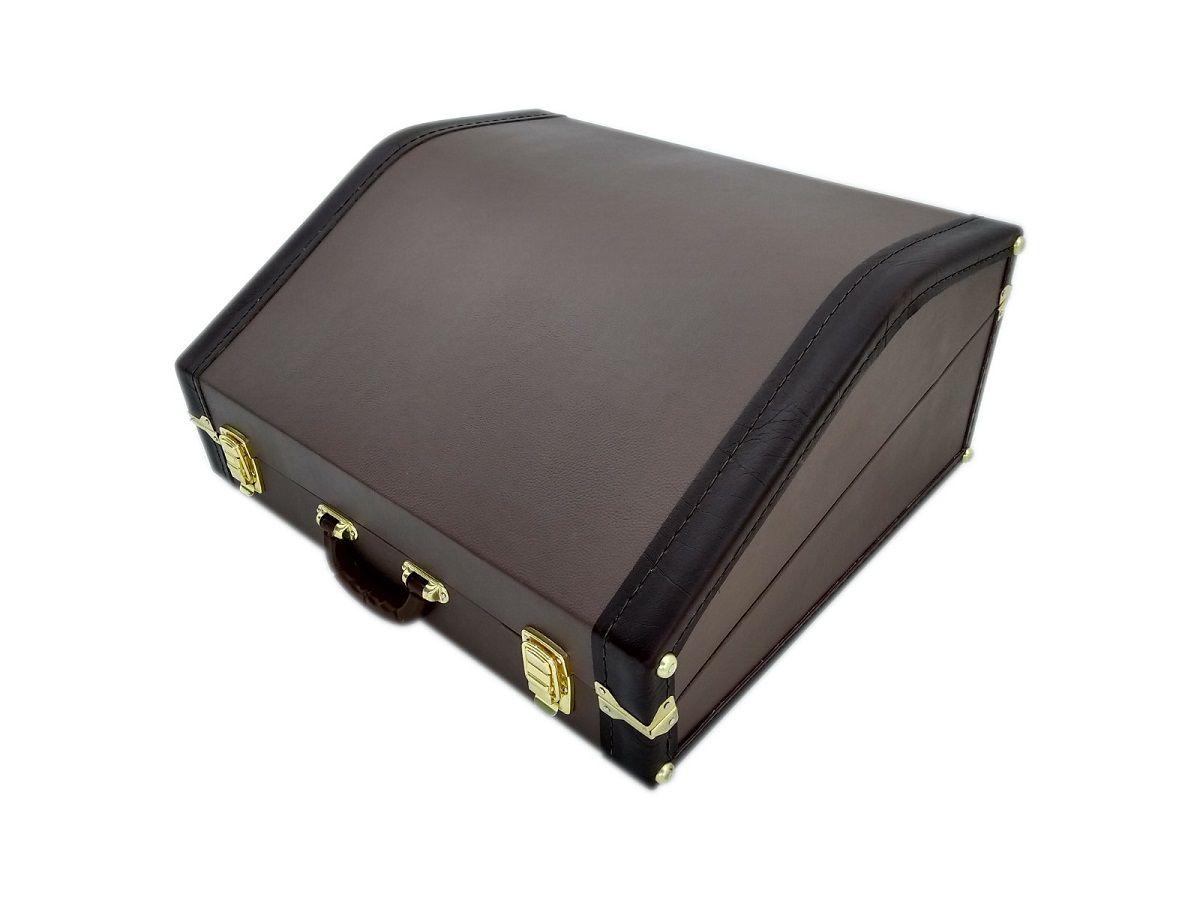 Case Térmico Para Acordeon 120 Baixos Extra Luxo