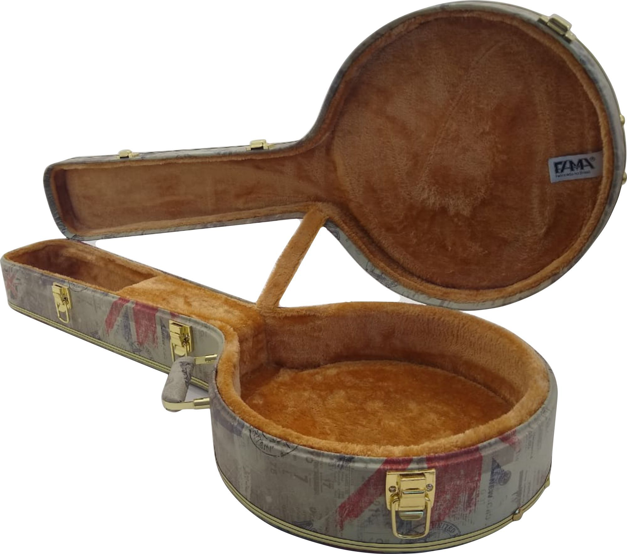Estojo Case Para Banjo Country Americano London
