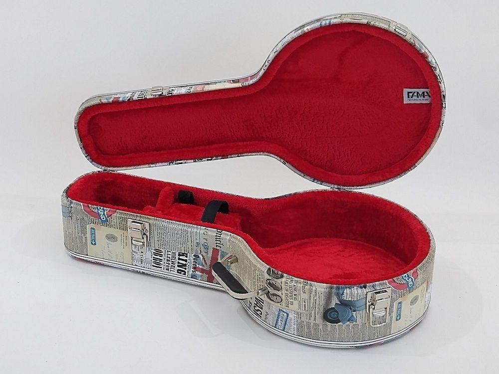 Estojo Case Para Banjo Tema London