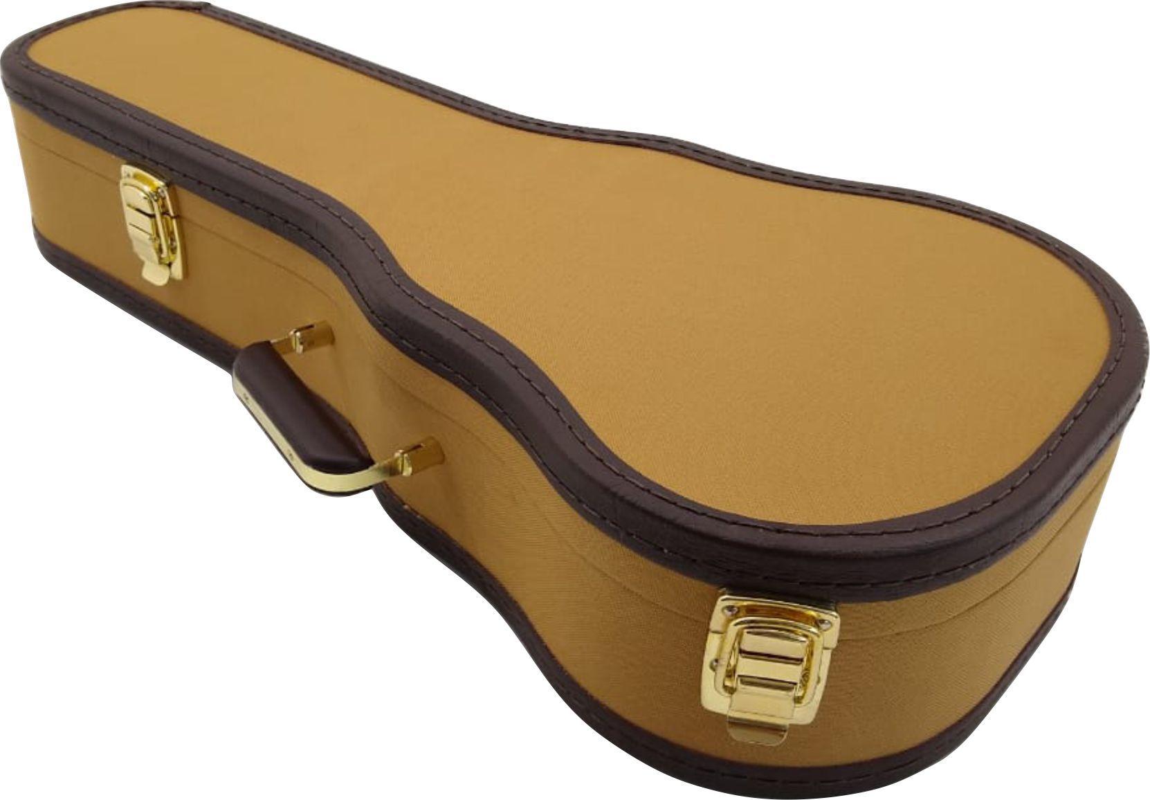 Case Para Cavaquinho Golden Tweed