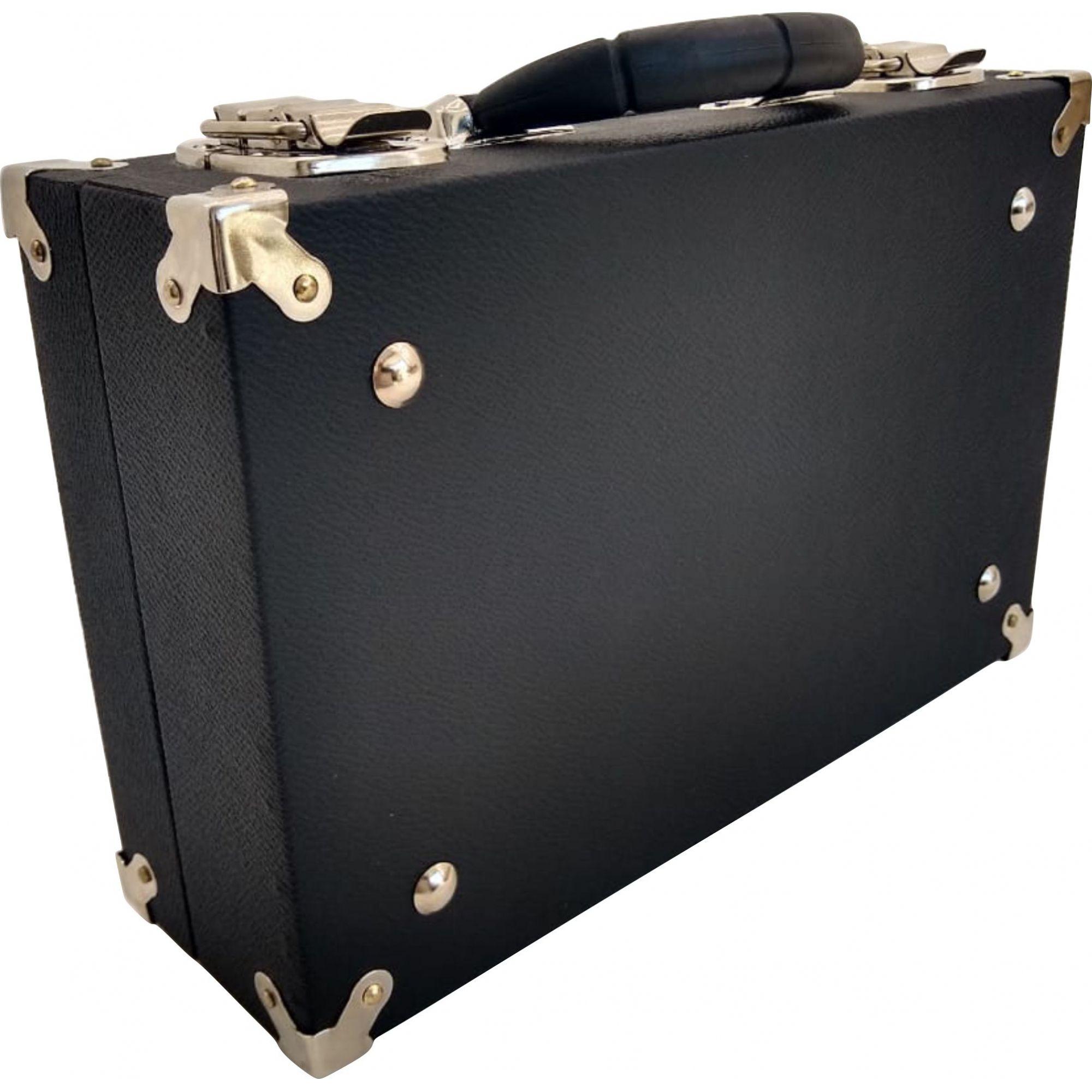 Estojo Case Para Clarineta Desmontada Em 5 Partes Standard