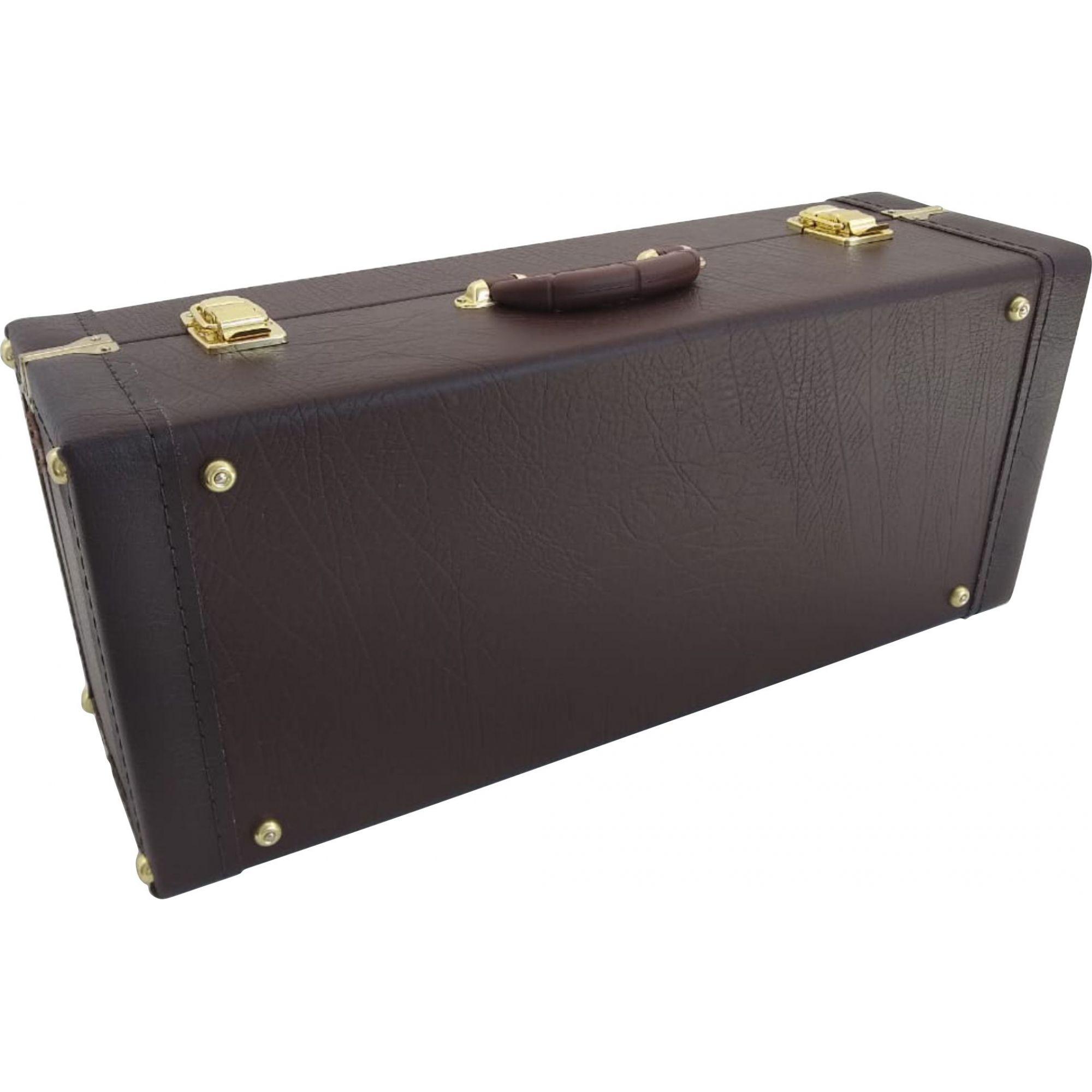 Estojo para Saxofone Alto Com Compartimento Extra Luxo