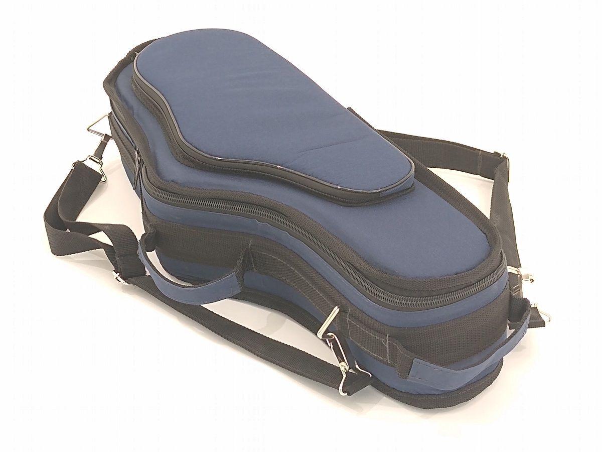 Semi Case para Saxofone Alto em Mib Azul