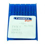 Agulha TVX5 para Máquinas Fechadeira e Ponto Corrente - PCT C/ 10