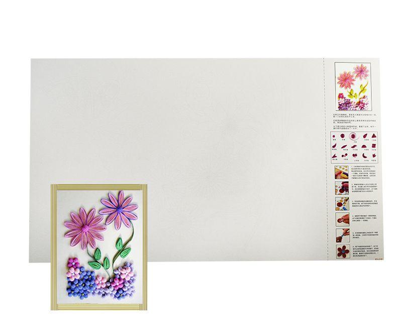Molde flores para Quilling pacote com 10