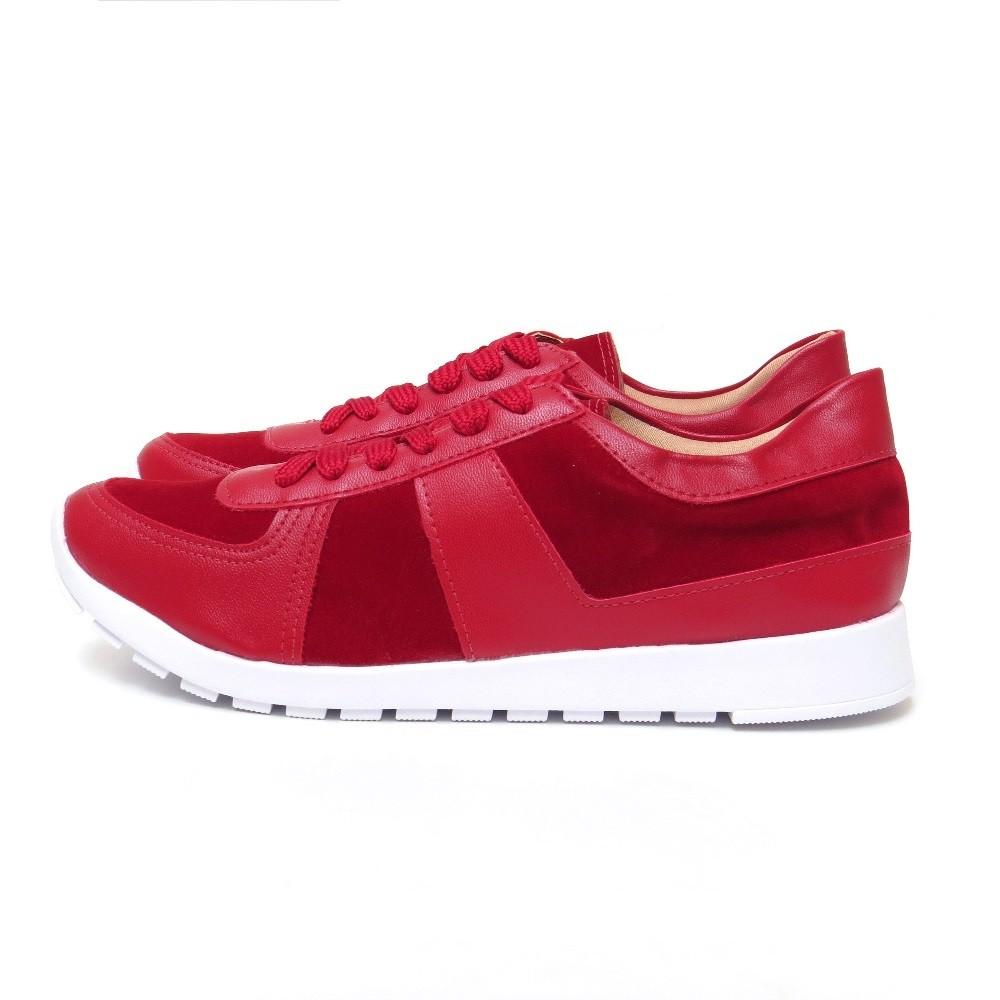 Tênis jogging - Vermelho