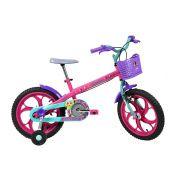 Bicicleta Caloi Barbie - Aro 16 - Freio Cantilever - Infantil