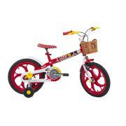 Bicicleta Caloi Minnie - Aro 16 - Freio Cantilever - Infantil