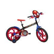 Bicicleta Caloi Spider Man - Aro 16 - Freio Cantilever - Infantil - Homem Aranha