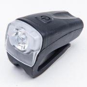 Farol Dianteiro Absolute Recarregável USB JY-378FU Preto 1 Led