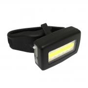 Pisca Dianteiro/Traseiro Elleven Recarregável USB Preto Luz 2 Cores Branco/Vermelho 5F
