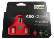 Taco Pedal Look Keo 9 graus Vermelho