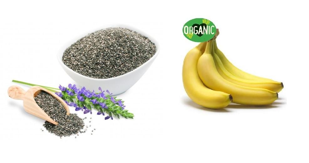 Barra Premium BeeWay Chia e Banana Organica 45g