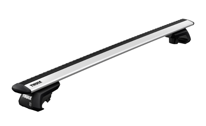 Base Para Rack de Teto Thule Evo Raised Rail 7104