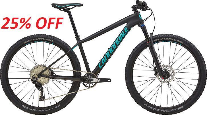 Bicicleta Cannondale F-Si Carbon 2 Feminina 27.5 2018