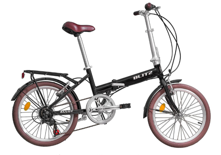 """Bicicleta Dobrável Blitz Alloy 20"""""""