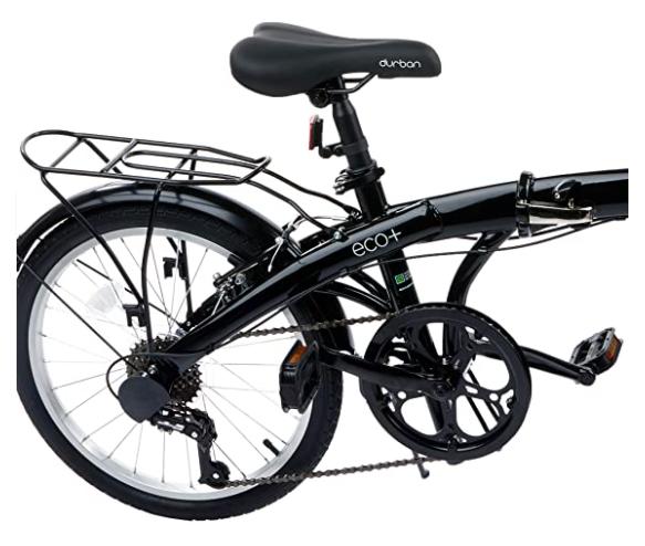 Bicicleta Durban Eco+ 6 Velocidades Aro 20 Preto 2020